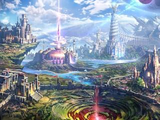 Собирать пазл Невиданные города онлайн