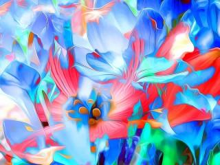 Собирать пазл Нежный цветок онлайн