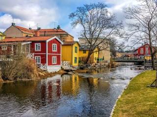 Собирать пазл Норртелье Швеция онлайн