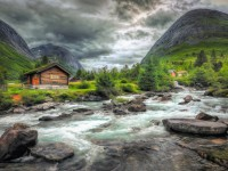 Собирать пазл Норвегия онлайн