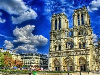 Собирать пазл Notre-Dame de Paris онлайн