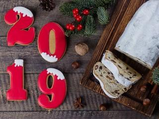Собирать пазл Новый год - 2019 онлайн