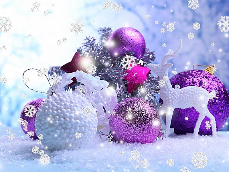 Пазл Собирать пазлы онлайн - Новый год