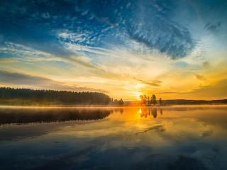 Собирать пазл Новое солнце онлайн
