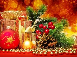 Собирать пазл Новогоднее настроение онлайн