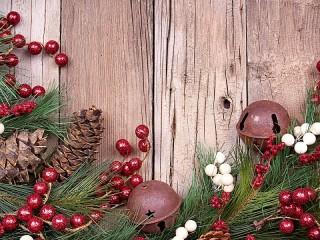 Собирать пазл Новогодний декор онлайн