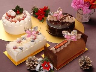 Собирать пазл Новогодний десерт онлайн