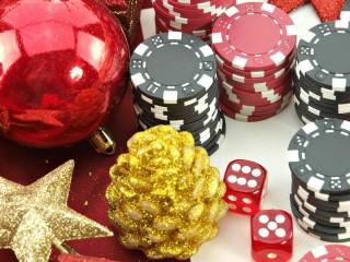 Собирать пазл Рождество в казино онлайн