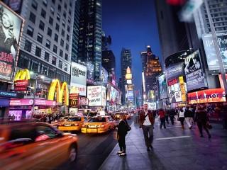 Собирать пазл Нью-Йорк  Нью-Йорк онлайн