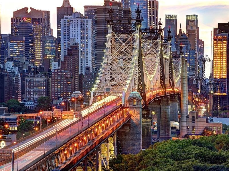 Пазл Собирать пазлы онлайн - Нью-Йорк - Манхеттен