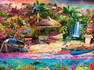 Собирать пазл Обитаемый остров онлайн