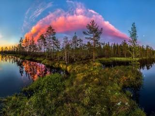 Собирать пазл Облако онлайн