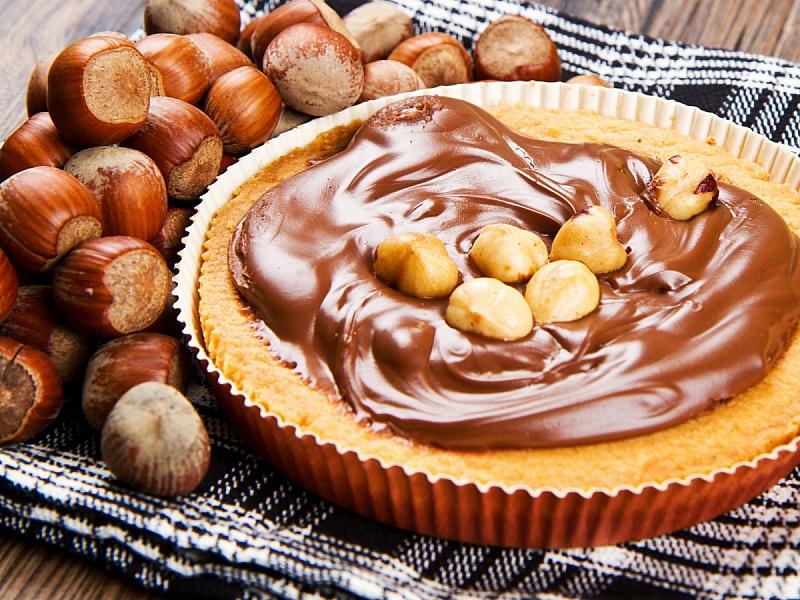 Пазл Собирать пазлы онлайн - Очень шоколадный торт