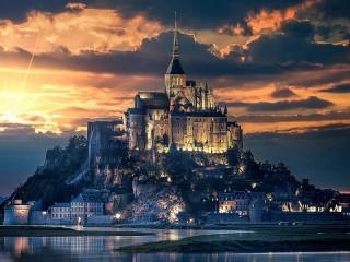 Собирать пазл Огни Франции онлайн