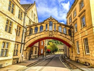 Собирать пазл Оксфорд Англия онлайн