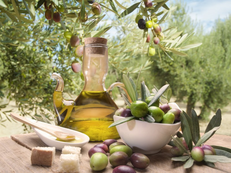 Пазл Собирать пазлы онлайн - Оливковое масло