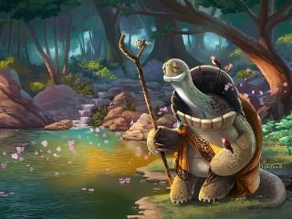 Собирать пазл Oogway онлайн