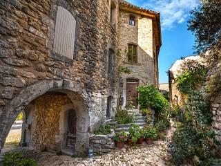 Собирать пазл Оппед-ле-Вье Франция онлайн