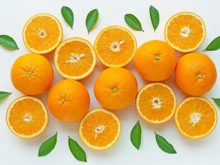 Собирать пазл Оранжевый и белый онлайн