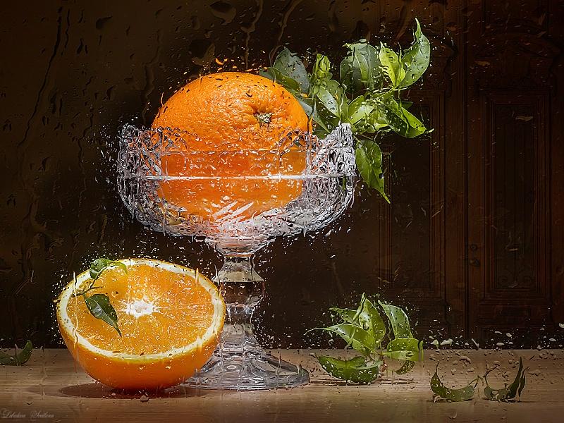 Пазл Собирать пазлы онлайн - Оранжевое настроение