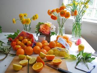 Собирать пазл Оранжевое настроение онлайн