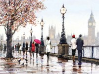 Собирать пазл Осень в Лондоне онлайн