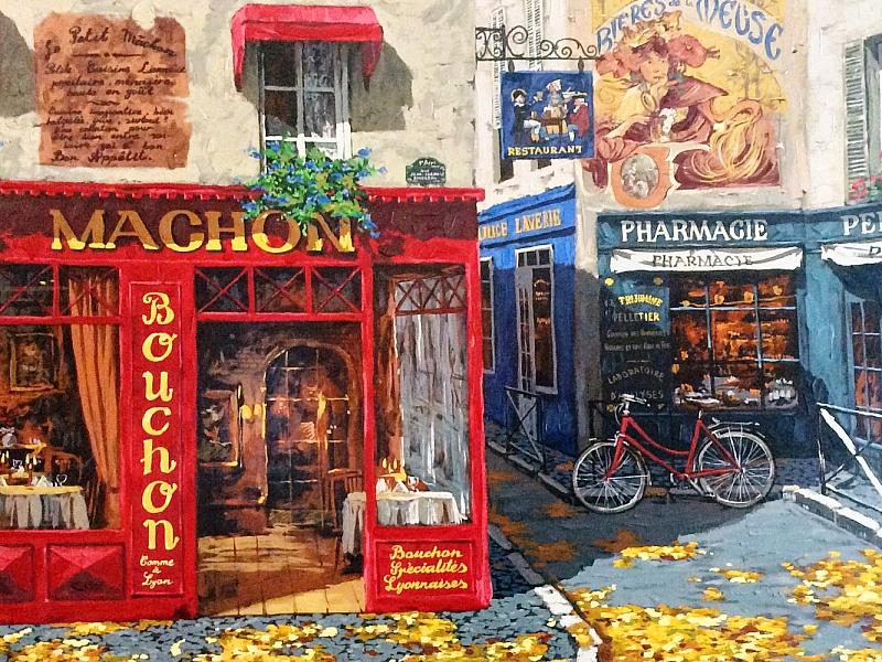 Пазл Собирать пазлы онлайн - Осень в Париже