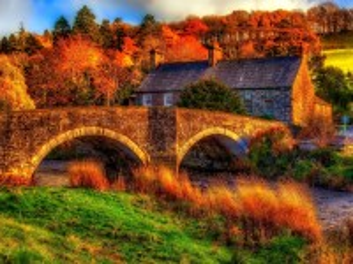 Собирать пазл Осень в Уэльсе онлайн