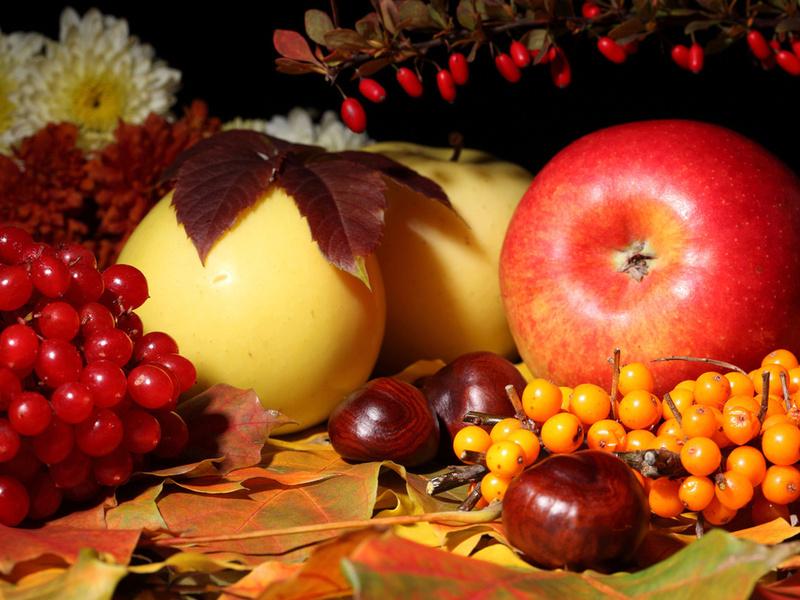 Пазл Собирать пазлы онлайн - Осени дары