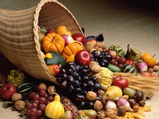 Собирать пазл Осеннее изобилие онлайн