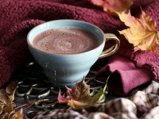 Собирать пазл Осеннее какао онлайн