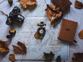 Собирать пазл Осеннее путешествие онлайн