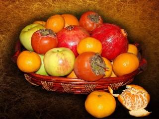 Собирать пазл Осенние фрукты онлайн