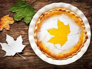 Собирать пазл Осенний пирог онлайн
