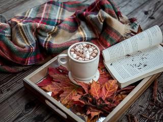 Собирать пазл Осенний шоколад онлайн