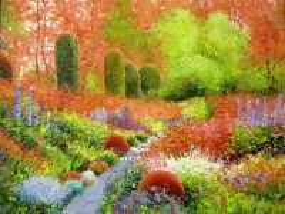 Собирать пазл Осенний парк онлайн