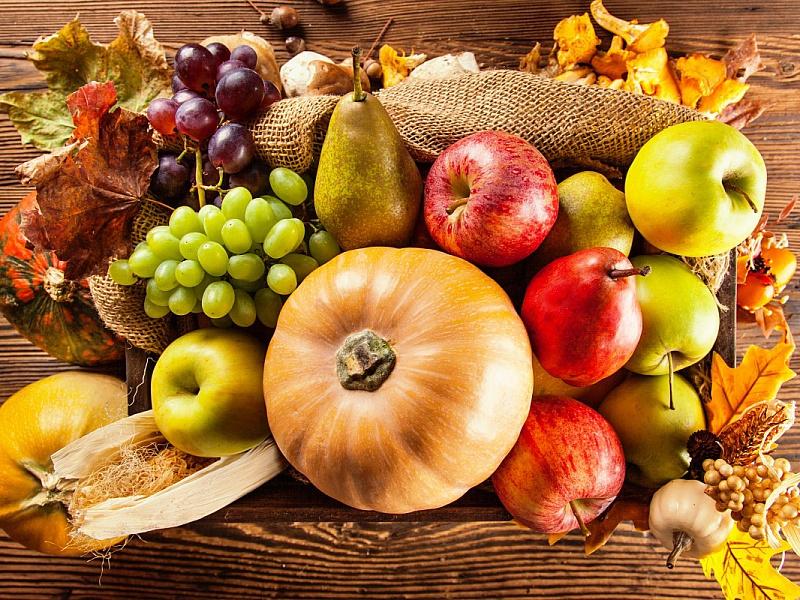 Пазл Собирать пазлы онлайн - Осенний урожай