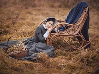 Собирать пазл Осенняя грусть онлайн