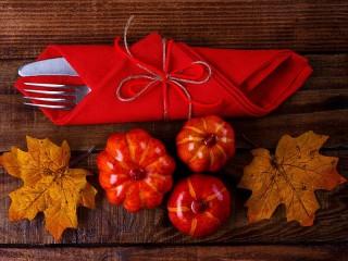 Собирать пазл Осенняя сервировка онлайн