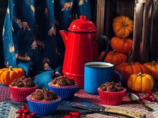 Собирать пазл Осенняя щедрость онлайн