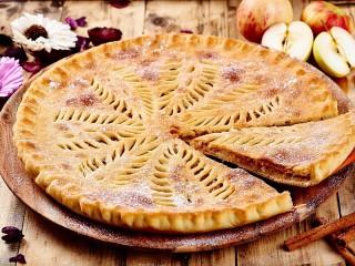 Собирать пазл Осетинский пирог онлайн