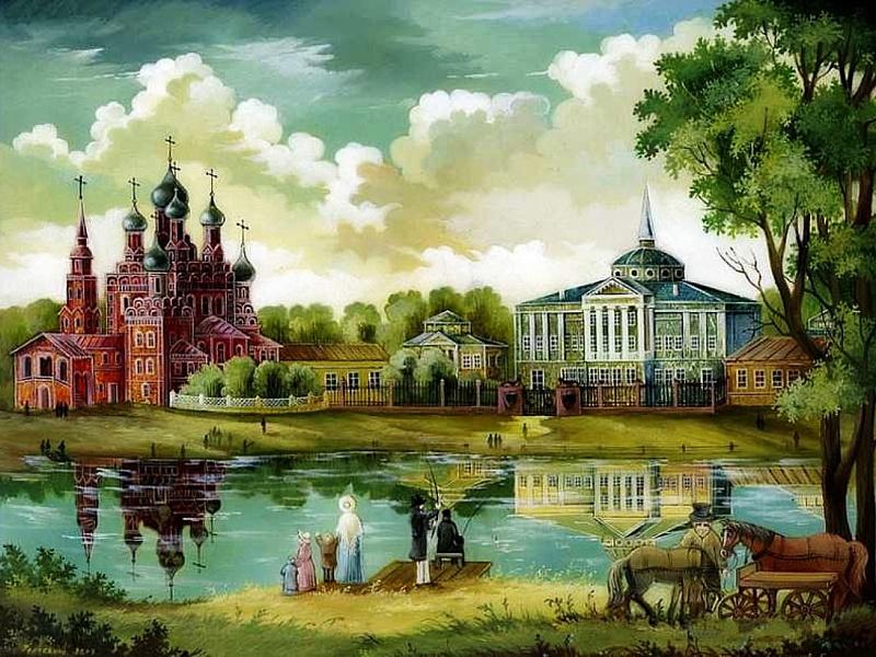 Пазл Собирать пазлы онлайн - Останкинский дворец