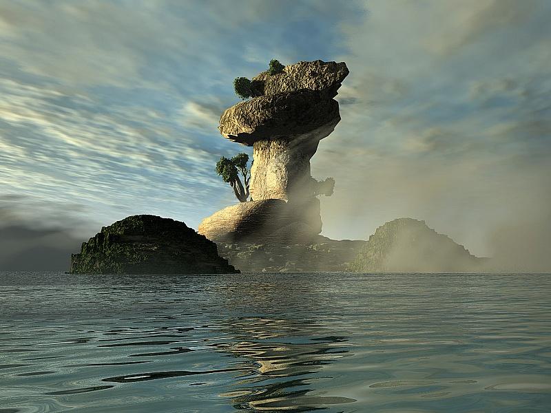 Пазл Собирать пазлы онлайн - Остров