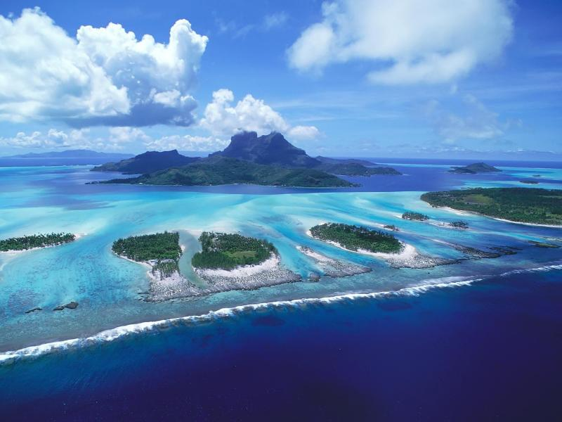 Пазл Собирать пазлы онлайн - Острова