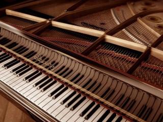 Собирать пазл Открытый рояль онлайн