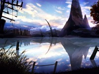 Собирать пазл Отражение горы онлайн