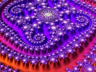 Собирать пазл Оттенки пурпурного онлайн