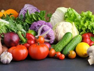 Собирать пазл Овощи онлайн