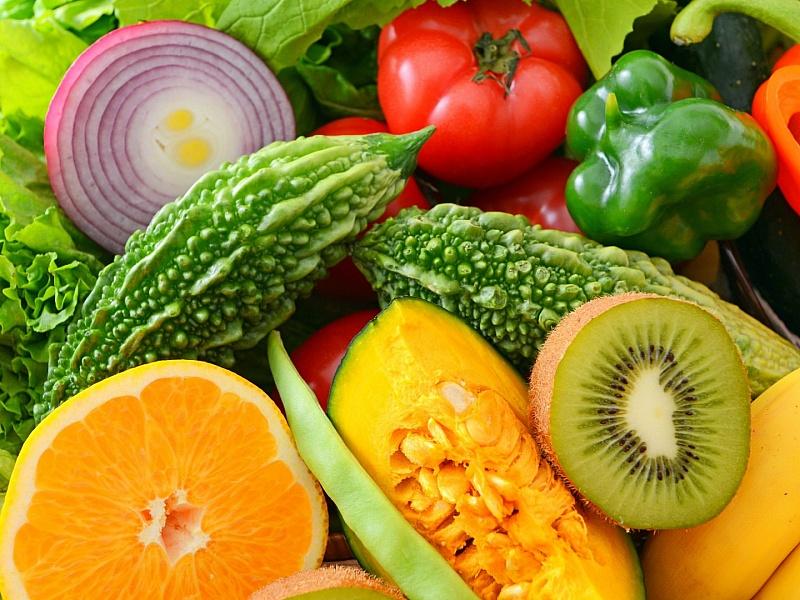 Фрукты и овощи на картинках
