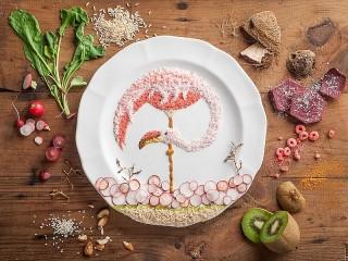Собирать пазл Овощная фантазия онлайн